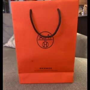 Small Hermès gift bag